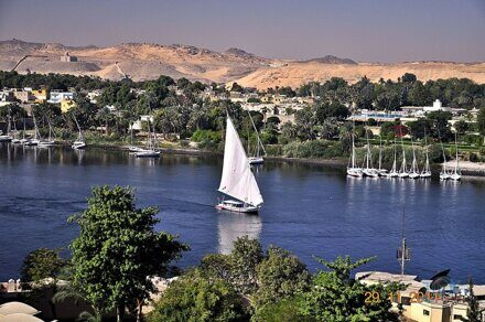 from/in Aswan